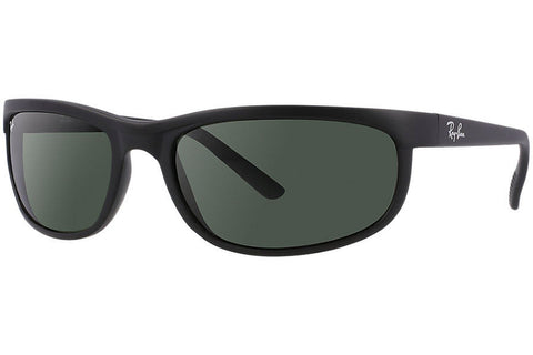 Ray-Ban RB2027-W1847 Predator 2 Sunglasses, Black Frame, Green 62mm Lenses