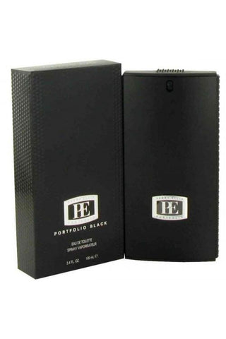 Portfolio Black 3.4 Edt Sp For Men