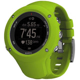 Suunto SS021260000 Ambit3 Run Lime Digital Display Quartz Watch, Lime Silicone Band, Round 50mm Case