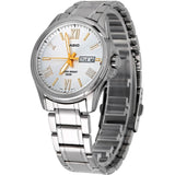 Casio MTP-1377D-7AVDF Analog Display Quartz Watch, Silver Stainless Steel Band, Round 41.4mm Case