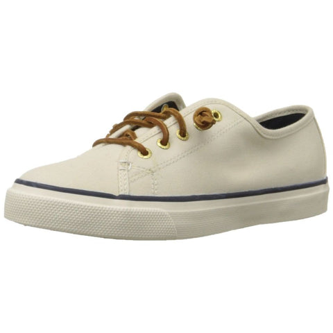 Sperry Top-Sider STS90549 Women's Seacoast Fashion Sneakers, Ivory, Size 5.0 US(M)