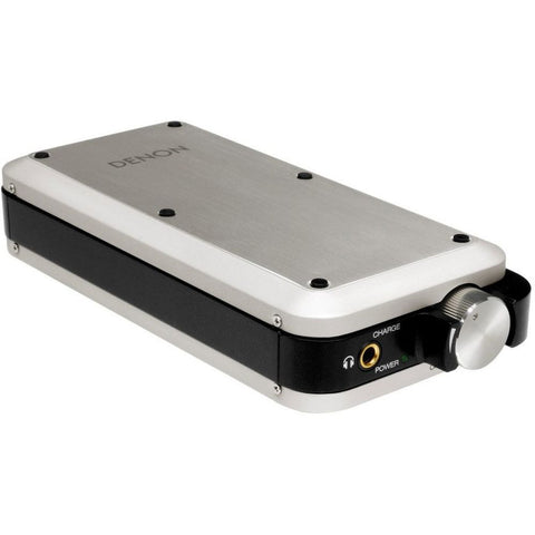 Denon DA-10 Portable USB-DAC and Headphone Amplifier, Silver
