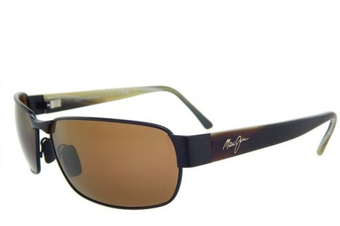 Maui Jim H249-19M Black Coral Sunglasses, Matte Bronze Frame, HCL Bronze Polarized 65mm Lenses