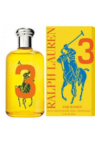 Polo Big Pony # 3 Yellow 1.7 Edt Sp For Women