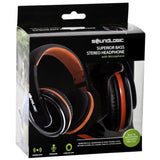 SoundLogic Superior Bass Stereo Headphone with Microphone
