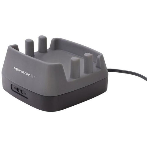SoundLogic XT 3-Port USB Charging Station for iPhone, iPad, Tablets, Phones - Gray
