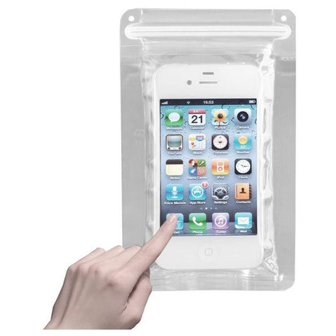 SoundLogic XT Reusable Clear Waterproof iPhone & Cell Phone Pouch Sleeve Bag