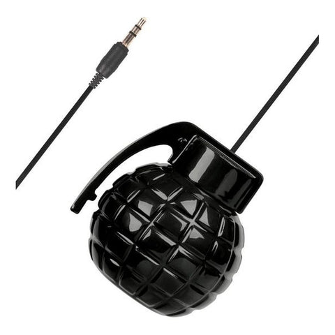 SoundLogic XT Rechargeable Grenade Speaker with Keychain