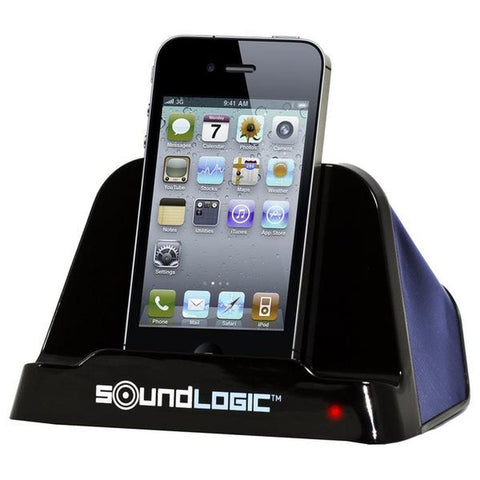 SoundLogic XT Universal USB Speaker for iPad/iPhone, Blue