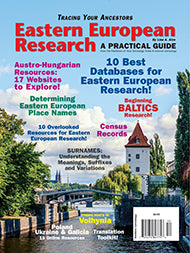 Eastern European Research - $8.50 for PDF & $9.95 for Print Edition