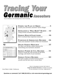 Tracing Your Germanic Ancestors - $8.50 for PDF & $9.95 for Print Edition
