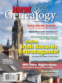 Society Event Copy - $1.00/copy for Internet Genealogy