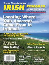 Irish Research - $8.50 for PDF & $9.95 for Print Edition