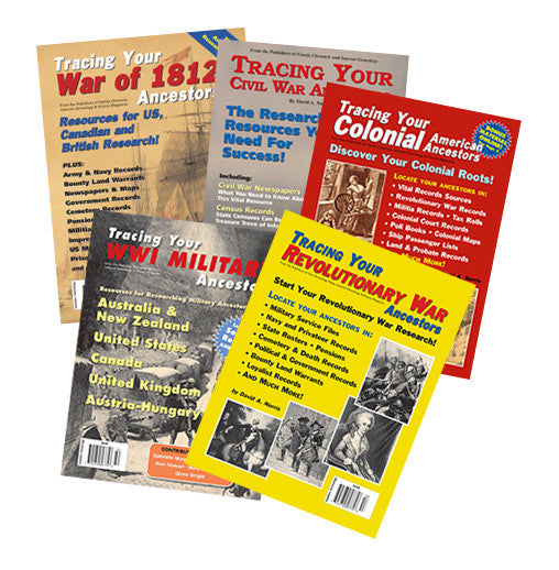 Genealogy Book Bundle Special 1 - Available in Print and PDF Format