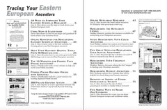 Tracing Your Eastern European Ancestors - $8.50 for PDF & $9.95 for Print Edition