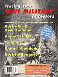 Tracing Your WW1 Military Ancestors - $8.50 for PDF & $9.95 for Print Edition