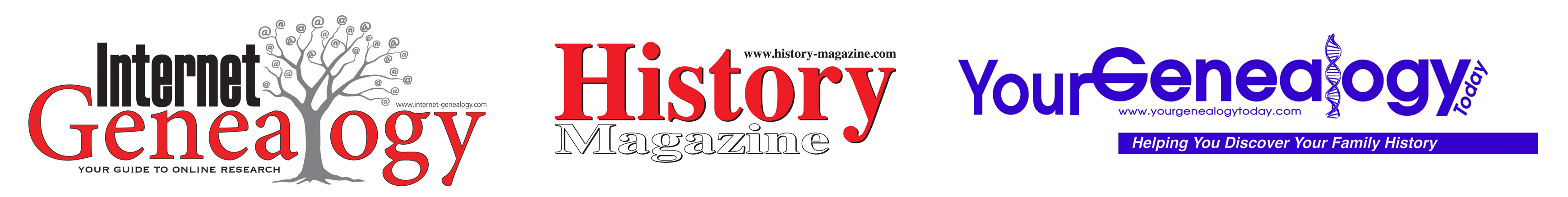 Your Genealogy Today - Internet Genealogy - History Magazine