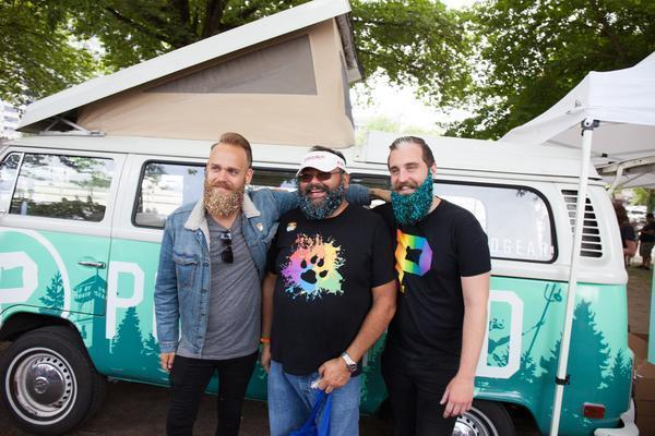 The Gay Beards - Pride Weekend - Portland Gear