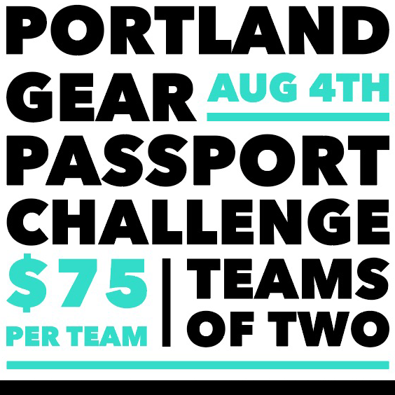 PASSPORT CHALLENGE - Portland Gear