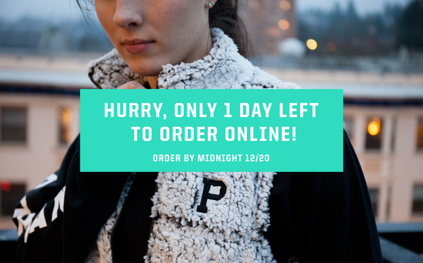 1 Day left to order online for delivery before 12/25