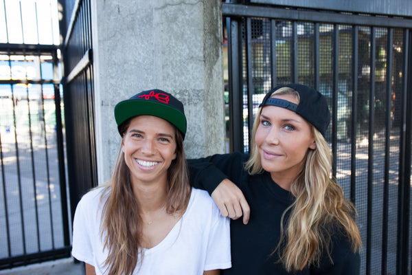 Tobin Heath And Allie Long Harry Hats Portland Gear