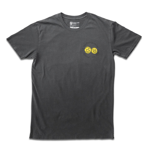 "The ""BE"" Tee - Faded Black"