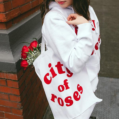 City Of Roses Tote - Portland Gear