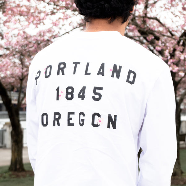 "Cherry Blossom ""P"" Long Sleeve"