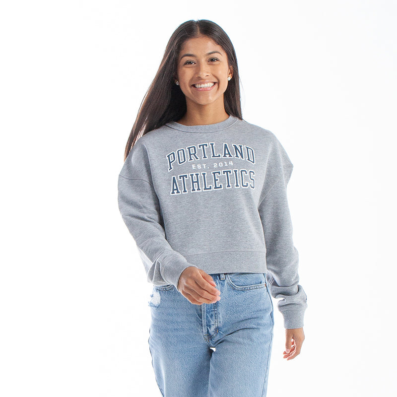 Cropped Campus Crewneck