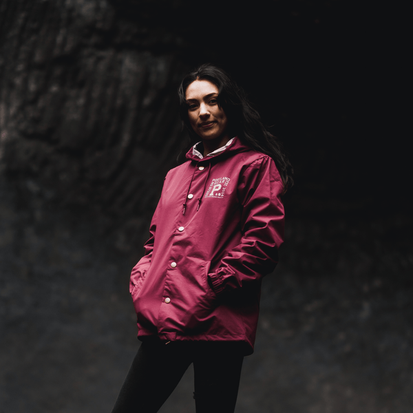 Maroon Rainjacket - Portland Gear