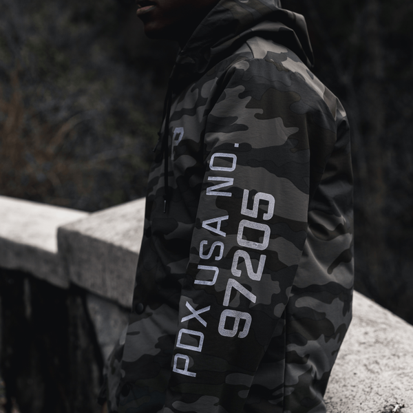 Camo Rainjacket - Portland Gear