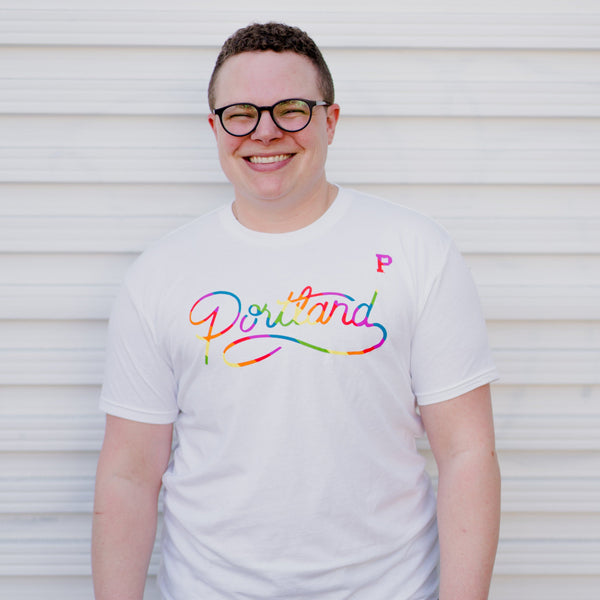 Script Colorway Pride Tee - Portland Gear