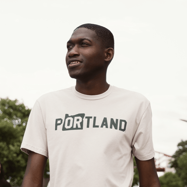 Light Gray Rise Tee - Portland Gear