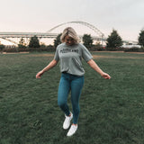 Athletic Heather Rise Tee - Portland Gear