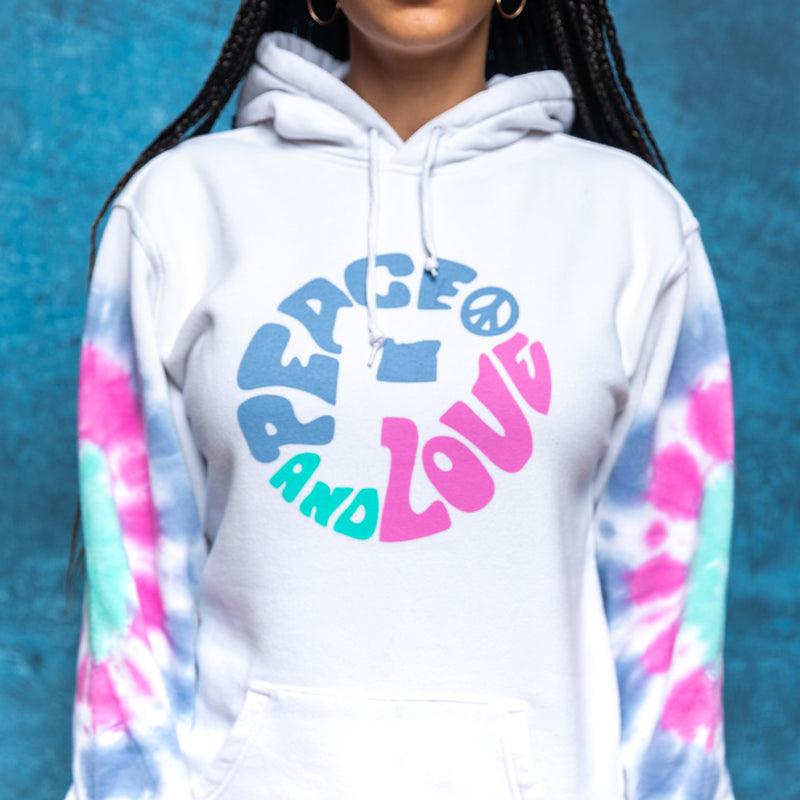 Peace and Love Hoodie