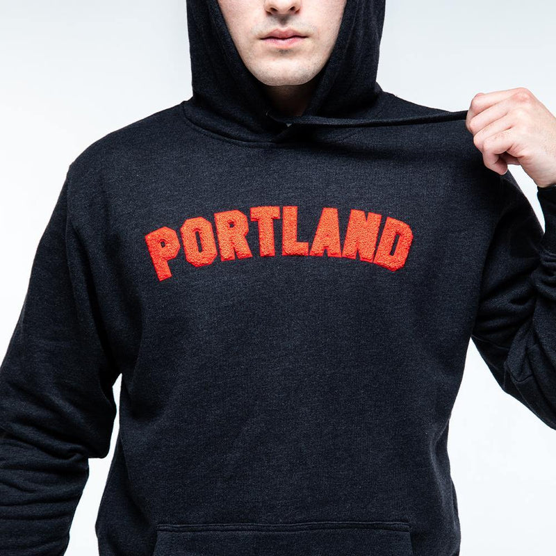 Red Portland Chenille Hoodie