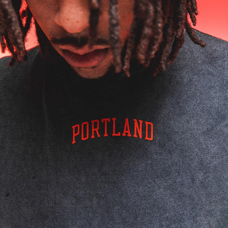 Acid Wash City Tee - Portland Gear