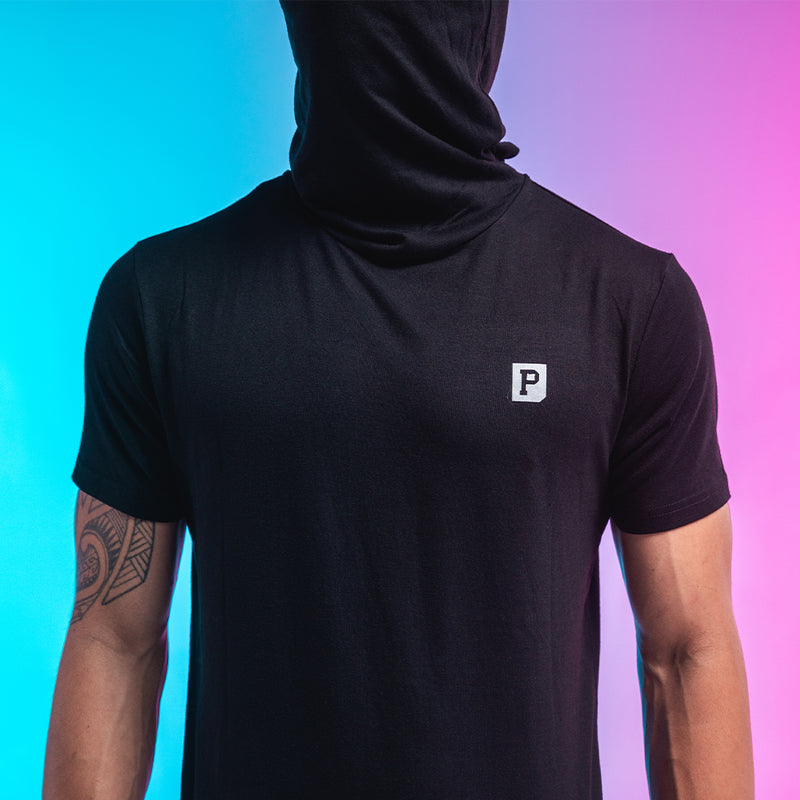 Performance Gaiter Tee - Black