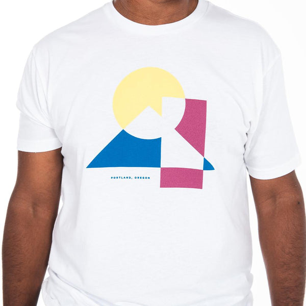 White Trifecta Tee - Portland Gear