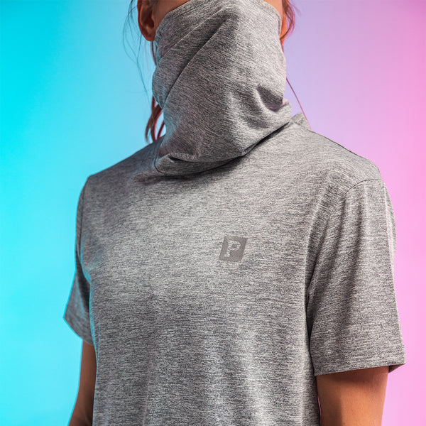 Performance Gaiter Tee - Grey