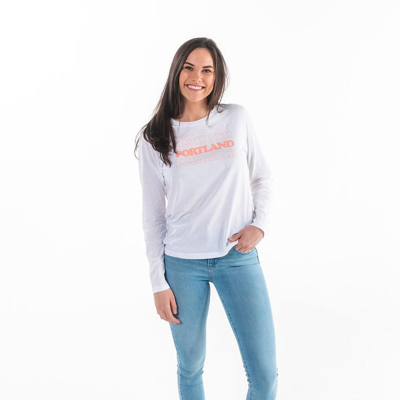 Women's Retro Stack Long Sleeve