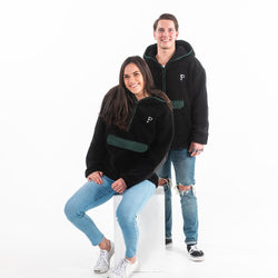 Black Hooded Sherpa - Portland Gear