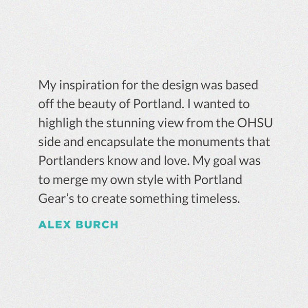 We Love You Portland Tee - Alex Burch - Portland Gear