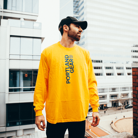 Gold Registered Long Sleeve - Portland Gear