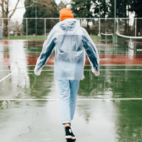 Clear Rainjacket - Portland Gear