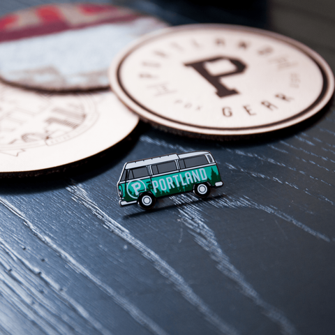 VW Bus Lapel Pin - Portland