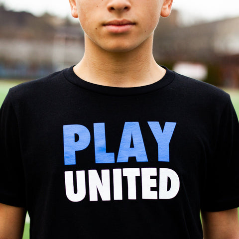 Youth Play United Tee