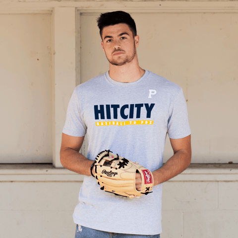 """Hit City"" - Baseball To Portland Tee - Portland Gear"