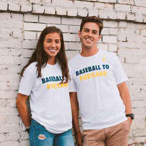 Baseball To Portland Tee - Portland Gear