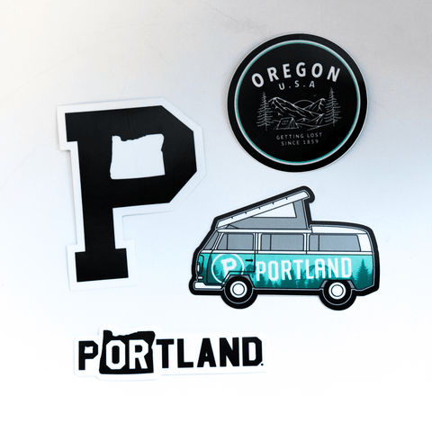 Sticker Pack - Portland Gear